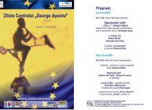 8-9-10 mai 2019- Zilele culturii la Bacău