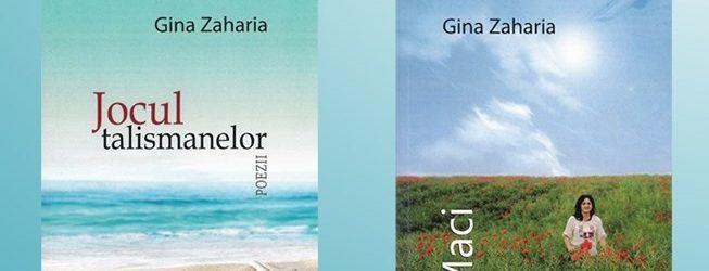 GINA ZAHARIA  va lansa două volume de poezie