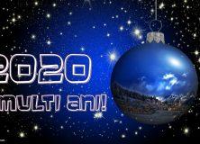 Sărbători cu bine! Un Nou An cu sănătate!